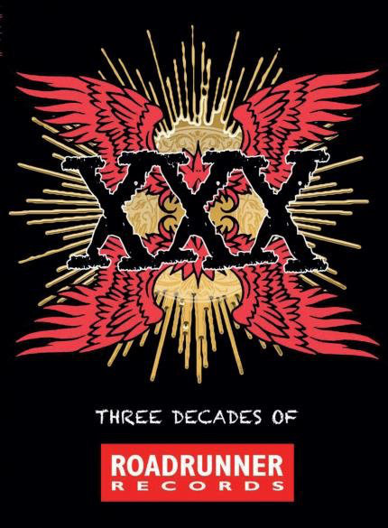 VARIOS BOX SET 4xCD XXX - Three Decades Of Roadrunner Records