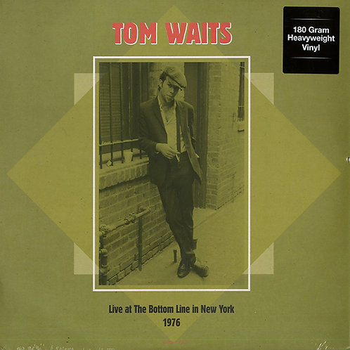 TOM WAITS 2XLP Live At The Bottom Line In New York December 18, 1976