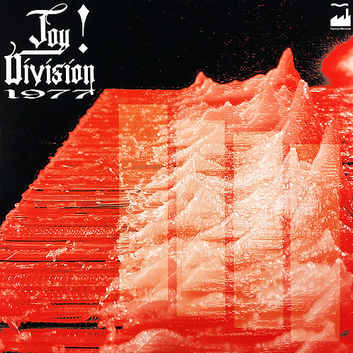 JOY DIVISION LP 1977 (Red Coloured Picture Disc Numbered Limited Edition)