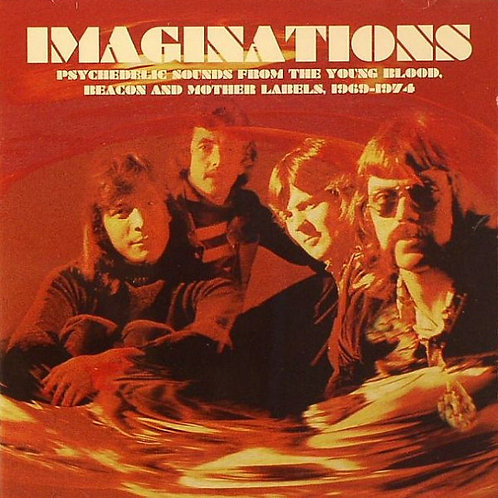 VARIOS CD Imaginations Psychedelic Sounds From The Young Blood Beacon