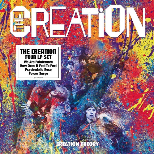 THE CREATION BOX SET 4xLP Creation Theory