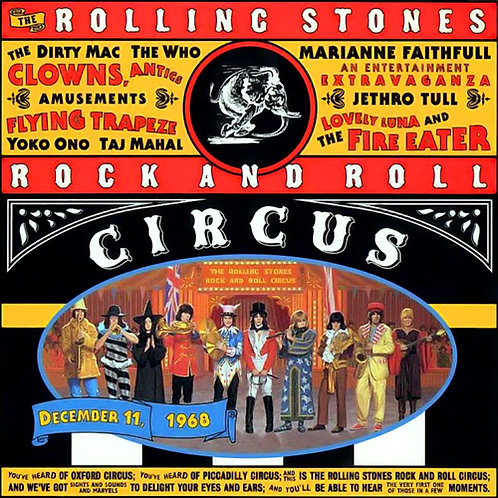 ROLLING STONES CD Rock And Roll Circus