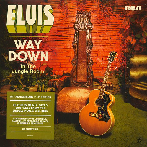 ELVIS PRESLEY 2xLP Way Down in the Jungle Room