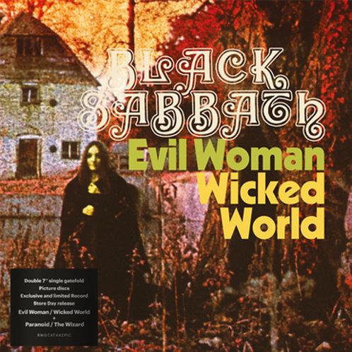 "BLACK SABBATH 2x7"" Evil Woman / Wicked World / Paranoid (RSD Drops 2020)"