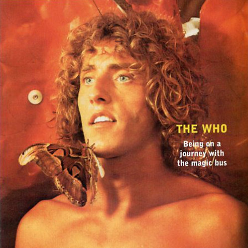 THE WHO 2xCD  Being On A Journey With The Magic Bus