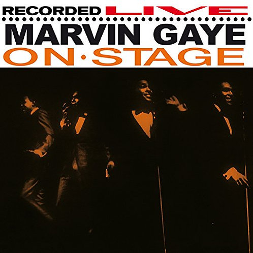 MARVIN GAYE LP Recorded Live On Stage