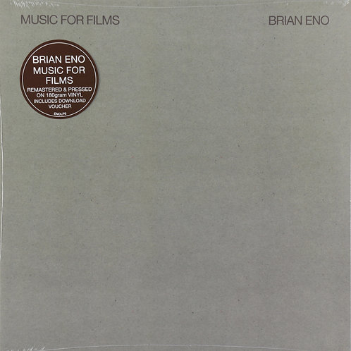 BRIAN ENO LP Music For Films (Remastered)