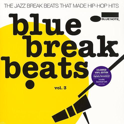 VARIOUS 2xLP Blue Break Beats Vol. 3 (Yellow Coloured Vinyl)