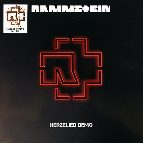 RAMMSTEIN LP Herzeleid Demo Herzelied (Gold Coloured Vinyl)