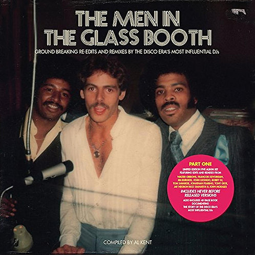 VARIOUS BOX SET 5xLP The Men In The Glass Booth (Compiled by Al Kent)