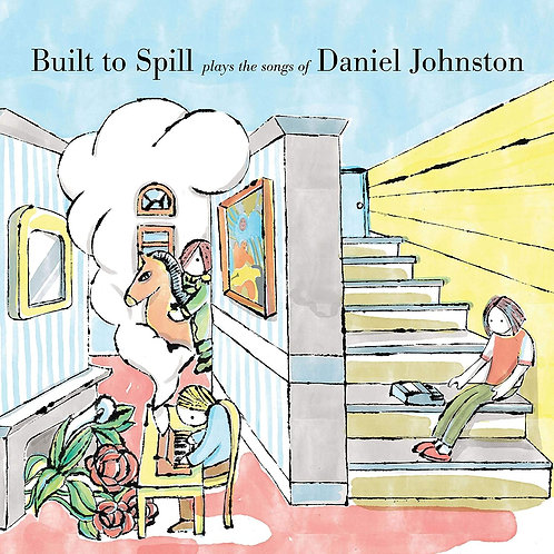 BUILT TO SPILL LP+BOOK Plays The Songs Of Daniel Johnston