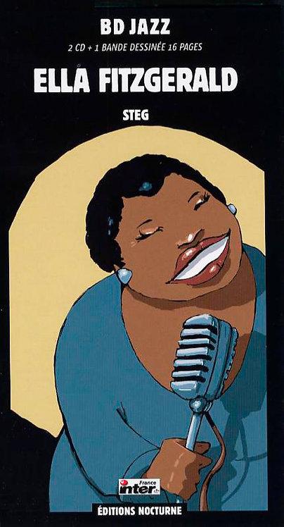 ELLA FITGERALD 2xCD BD Jazz (Comic Book Longbox)