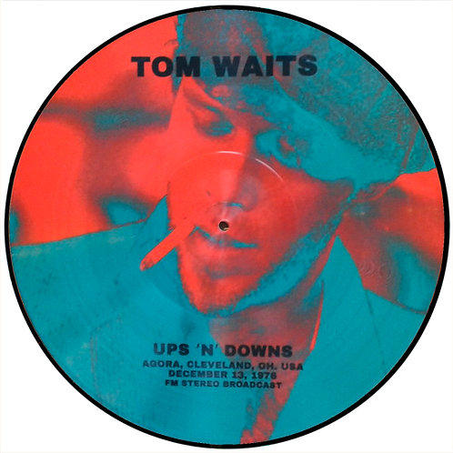 TOM WAITS LP Ups 'N' Downs (Picture Disc)