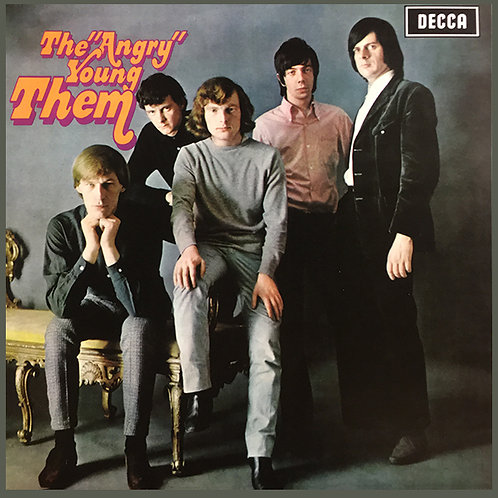 "THEM featuring VAN MORRISON LP The ""Angry"" Young Them!"