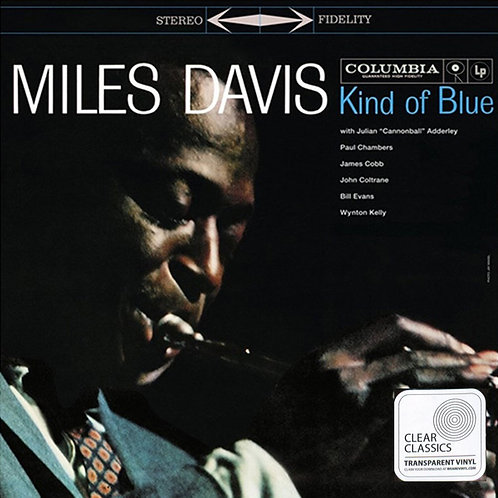 MILES DAVIS LP Kind Of Blue (Transparent Coloured Vinyl)