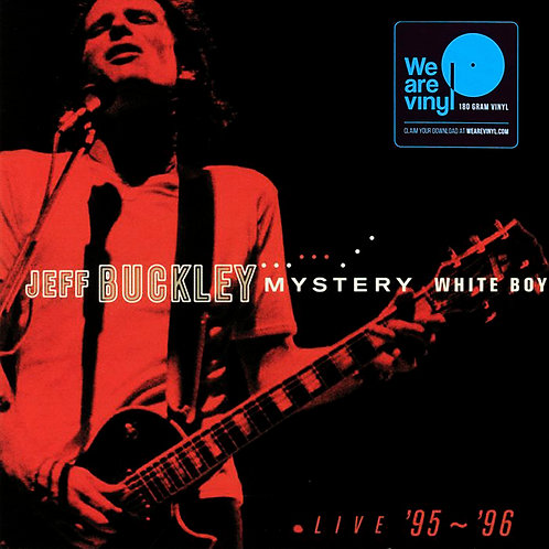 JEFF BUCKLEY 2xLP Mystery White Boy: Live '95 - '96