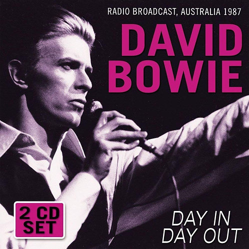 DAVID BOWIE 2XCD Day In Day Out