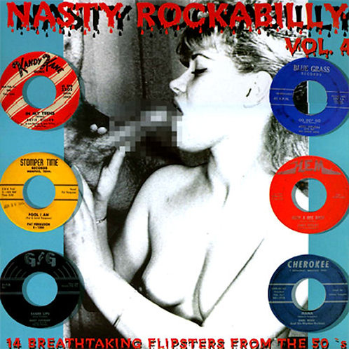 VARIOUS LP Nasty Rockabilly Vol. 4 (14 Breathtaking Flipsters From The 50's)