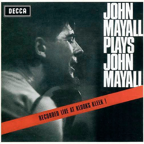 JOHN MAYALL CD Plays John Mayall + Bonus Tracks