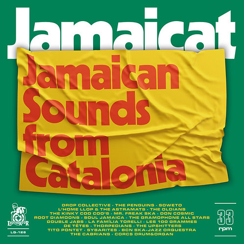 VARIOUS 2xLP Jamaicat - Jamaican Sounds From Catalonia