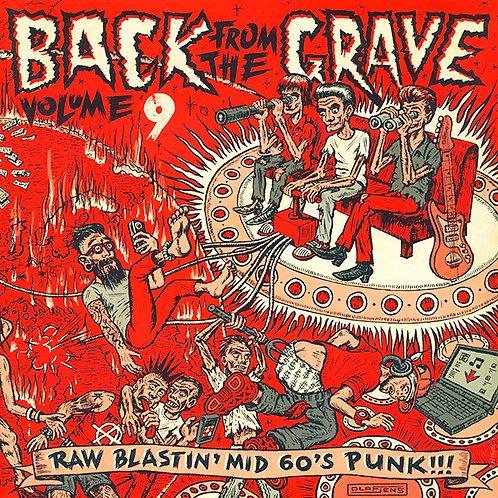 VARIOS LP Back From The Grave Volume 9 Gatefold