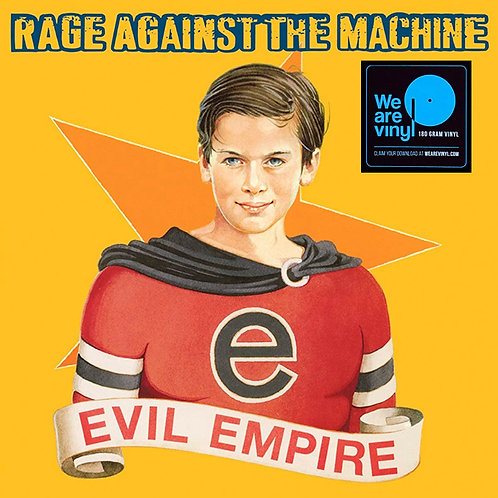 RAGE AGAINST THE MACHINE LP Evil Empire