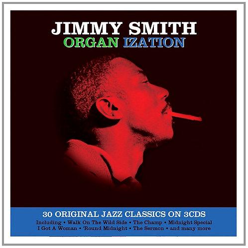 JIMMY SMITH 3xCD Organ Ization