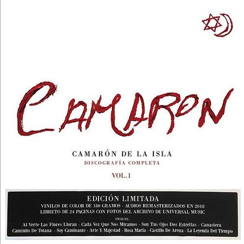 CAMARON BOX SET 10xLP Discografia Completa Vol. 1 (Limited Coloured Vinyls)