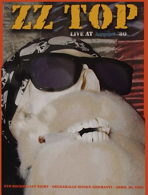 ZZ TOP DVD Live At Rockpalast 80 (Digipack)
