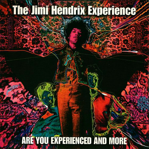 JIMI HENDRIX 2xCD Are You Experienced And More
