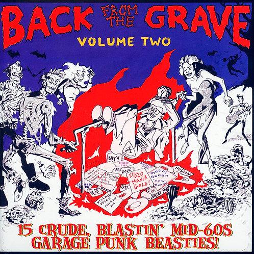 VARIOS LP Back From The Grave Volume 2 Gatefold