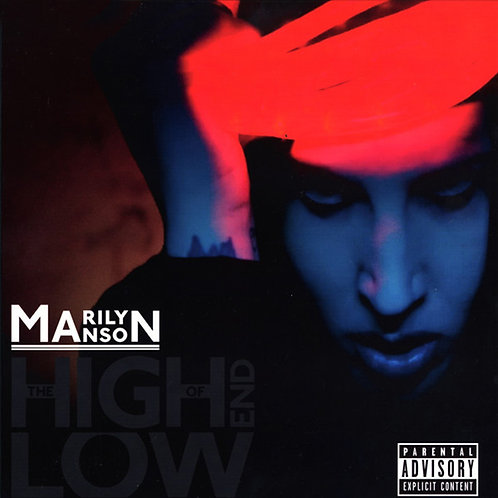 MARILYN MANSON 2xLP The High End Of Low (Grey & Red Coloured Vinyl)