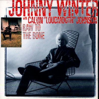 JOHNNY WINTER CD Raw To The Bone
