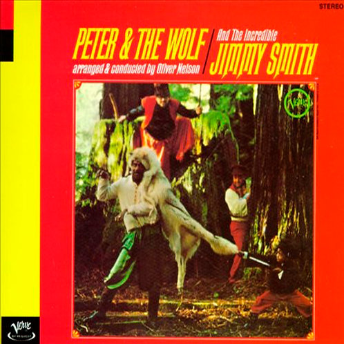 JIMMY SMITH CD Peter & The Wolf