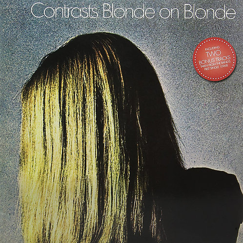BLONDE ON BLONDE LP Contrasts (Weish Prog Rock) Gatefold Cover with Bonus Tracks