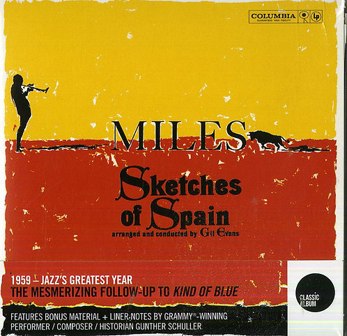 MILES DAVIS 2xCD Sketches Of Spain (Special Edition Digipack)