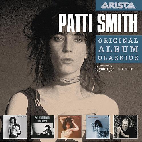 PATTI SMITH BOX SET 5xCD Original Album Classics