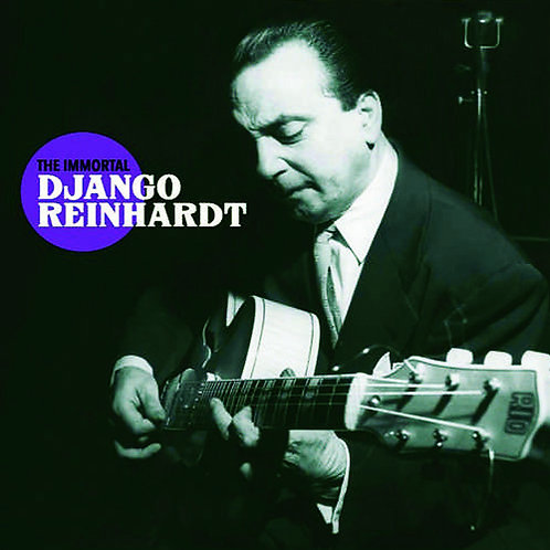 DJANGO REINHARDT CD The Immortal Django Reinhardt + 10 Bonus Tracks