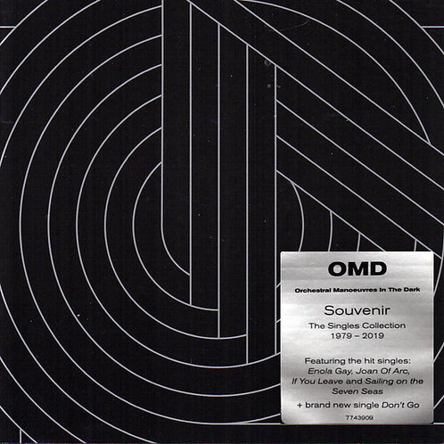 OMD 2xCD Souvenir - The Singles Collection 1979-2019