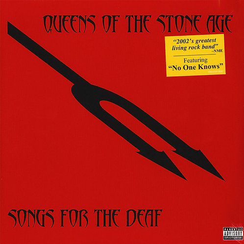 QUEENS OF THE STONE AGE 2xLP Songs For The Deaf
