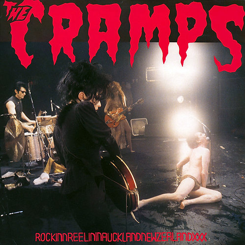 CRAMPS LP RockinnReelininAucklandNewZealandXXX (Blue Coloured Vinyl)