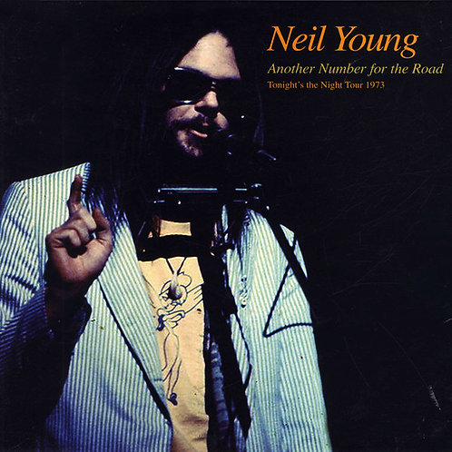 NEIL YOUNG LP Another Number For The Road