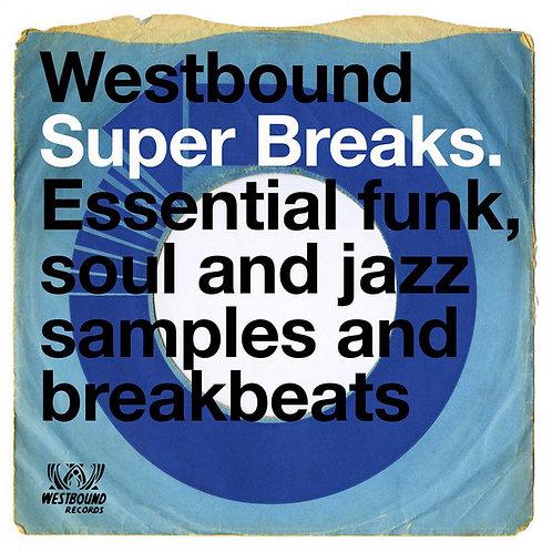 VARIOS 2xLP Westbound Super Breaks. Essential Funk, Soul And Jazz Samples