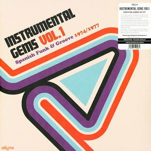 VARIOS LP Instrumental Gems Vol.1 - Spanish Funk And Groove 1974/1977