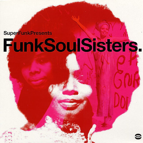 VARIOS 2xLP Funk Soul Sisters