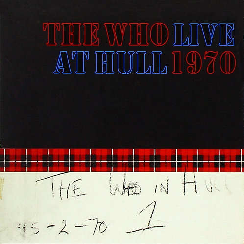 THE WHO 2xCD Live At Hull 1970 (Deluxe Edition)