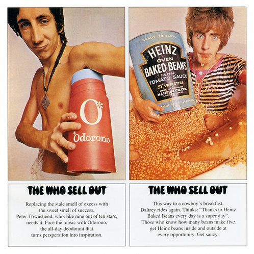 THE WHO LP Sell Out (With Psychedelic Poster)