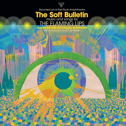 THE FLAMING LIPS CD (Recorded Live At Red Rocks Amphitheatre) The Soft Bulletin