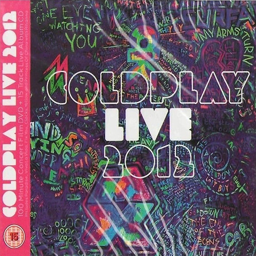 COLDPLAY CD+DVD Live 2012 (Digipack)