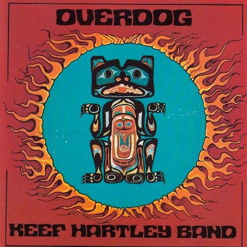 KEEF HARTLEY BAND CD Overdog (Remastered with Bonus Tracks)